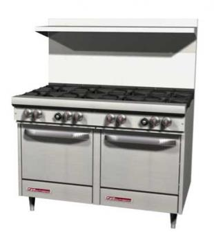"S-Series Range 48"" W (1) Burners - #S48AC-4G"
