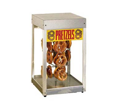 Star Pretzel Merchandiser Display Cabinet - 16PD-A