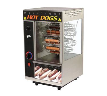 Star Broil-O-Dog Hot Dog Broiler - 174CBA