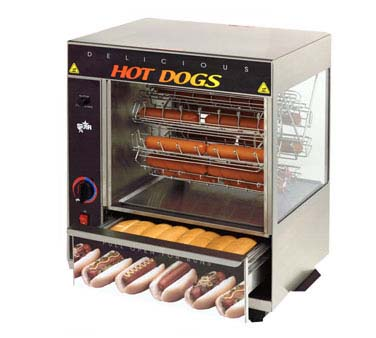 Star Broil-O-Dog Hot Dog Broiler - 175CBA