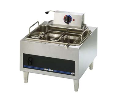 Max Countertop Electric Fryer Hlf Single Fry Pot Product Photo