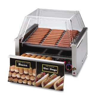Star Grill-Max Pro Hot Dog Grill - 30SCBD