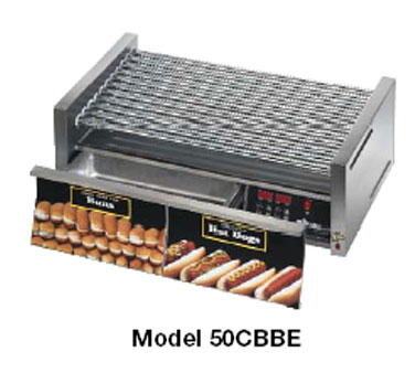 Star Grill-Max Pro Hot Dog Grill - 30SCBDE