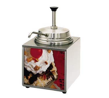 Star Lighted Food Warmer - 3WLA-P