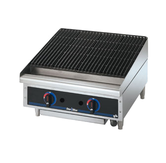 Star-Max Radiant Countertop Charbroiler - 24 Inch