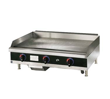 "Star Star-Max Griddle, 15"" With Throttling Thermostat - 615TF"