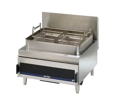 Star Ma Countertop Gas Fryer Twin Baskets Product Photo