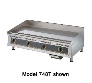 "Star Ultra-Max Griddle 48"" - 748TA"