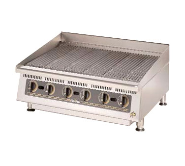 Ultra-Max 36 Inch Charbroiler with Lava Rock