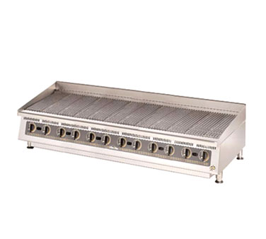 Ultra-Max 72 Inch Charbroiler with Lava Rock