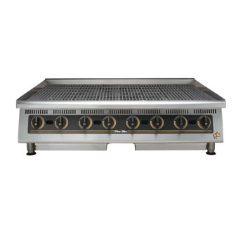 Ultra-Max 48 Inch Charbroiler w/Steel Radiants