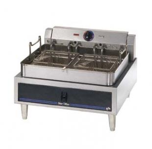 Star-Max Electric Countertop Fryer With Single Fry Pot - 530FF