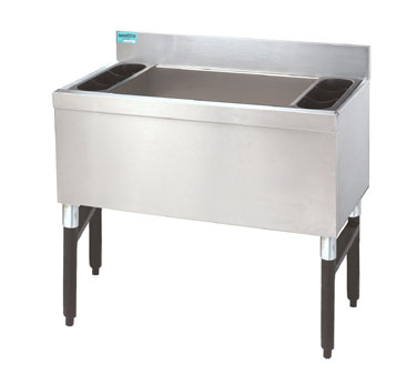 "Supreme Metal Slimline Cocktail Unit 36"" w x 18"" dp  - #SLI-12-36"