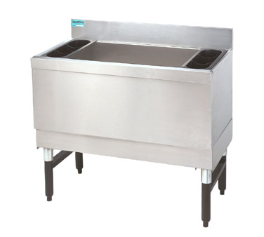 "Supreme Metal Slimline Cocktail Unit 48"" w x 18"" dp  - #SLI-12-48-7"