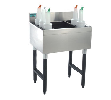 "Supreme Metal Slimline Cocktail Unit 36"" w x 18"" dp  - #SLJ-36-7"