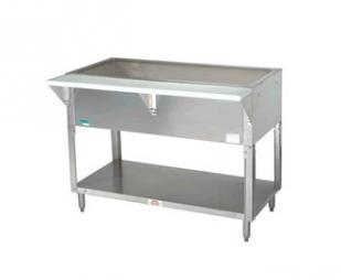 "Supreme Metal Triumph Coldpan Table 31.812"" long 2-pan  - CPU-2"