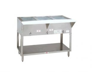 "Supreme Metal Triumph Hot Food Table LP Gas 62.375"" long  - #HF-4G-LP"