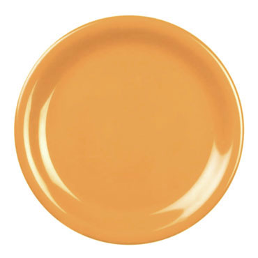 Thunder 9 Inch Melamine Plate, Yellow CR109YW