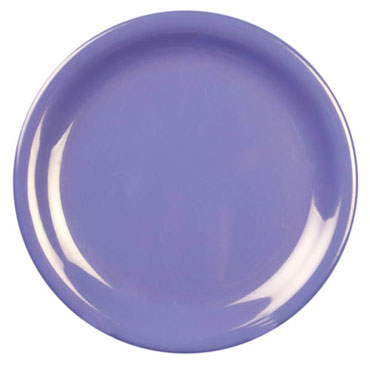 Thunder 9 Inch Melamine Plate, Purple CR109BU