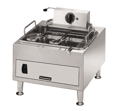 Toastmaster Fryer electric counter top  15 lb. fat capacity - #TMFE15