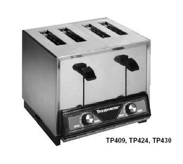 Toastmaster Pop-Up Toaster 4-slice - TP424