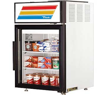 TRUE Countertop Freezer Merchandiser - GDM-5F-LD