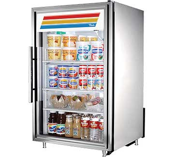 TRUE Countertop Refrigerated Merch. - GDM-7-S-LD