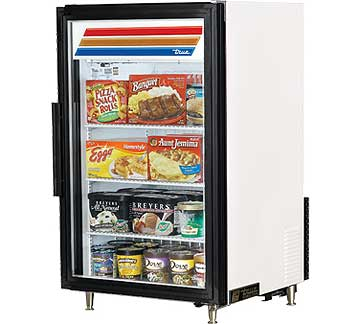 TRUE Countertop Freezer Merchandiser - GDM-7F-LD