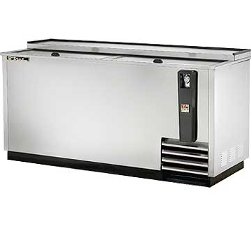 TRUE TD-65-24-S Bottle Cooler, Stainless Steel, 22-32.5 Cases