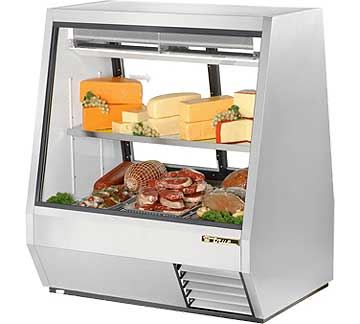 TRUE Double Duty Deli Case TDBD-48-2