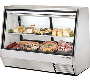 TRUE Double Duty Deli Case TDBD-72-2