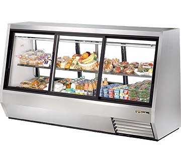 TRUE Double Duty Deli Case TDBD-96-6
