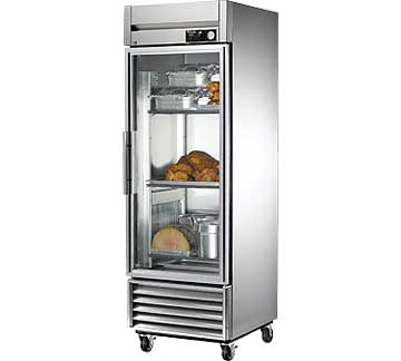 TRUE Htd Cabinet Reach-in 1-section 23 cu. ft. - TH-23G~FGD01