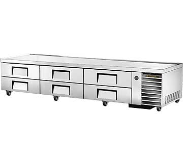 "TRUE Refrigerated Chef Base 110""L base - TRCB-110"