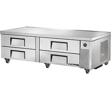 "TRUE Refrigerated Chef Base 72-3/8""L base - TRCB-72"
