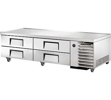 "TRUE Refrigerated Chef Base 79-1/4""L base - TRCB-79"