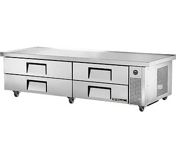 "TRUE Refrigerated Chef Base 82-3/8""L base - TRCB-82-86"