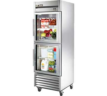 TRUE Refrigerator Reach-in 1-section 23 cu. ft. - TS-23G-2-HC~FGD01