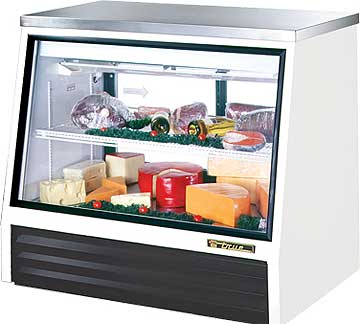 TRUE Counter-Height Deli Case TSID-48-2-L