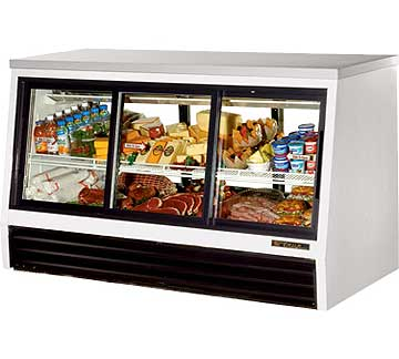 TRUE Counter-Height Deli Case TSID-72-6-L