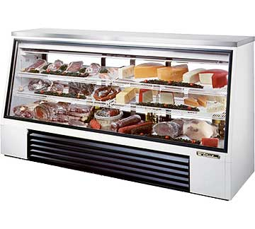 TRUE Single Duty Deli Case TSID-96-3