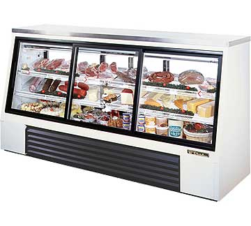 TRUE Single Duty Deli Case TSID-96-6