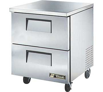 TRUE Undercounter Freezer 6.5 cu. ft. - TUC-27F-D-2-HC