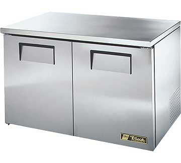 TRUE Low Profile Undercounter Freezer 12 cu. ft. - TUC-48F-LP-HC