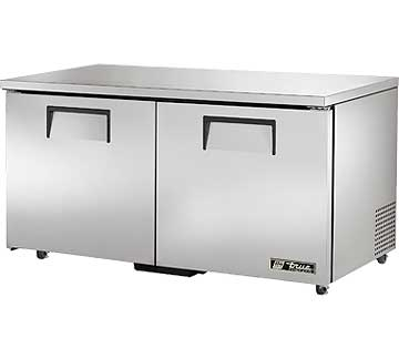 TRUE Undercounter Freezer 15.5 cu. ft. - TUC-60F-ADA-HC