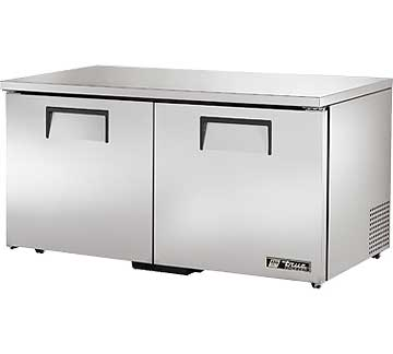 TRUE Low Profile Undercounter Freezer 15.5 cu. ft. - TUC-60F-LP-HC