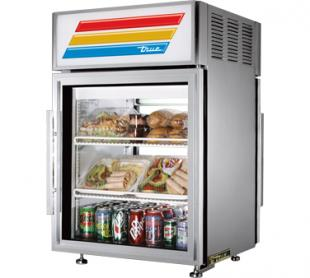 TRUE Countertop Refrigerated Merch. - GDM-5PT-S-LD
