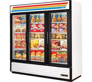 True Glass Door Freezer GDM-72F-LD (swing doors)