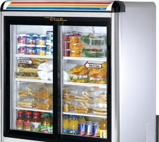 TRUE Countertop Refrigerated Merch. - GDM-9-S-LD