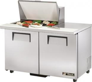 TRUE Mega Top Sandwich Prep Table 12 Cu. Ft. TSSU-48-12M-BADA
